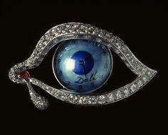 "Salvador Dalí, ""Time's Eye."""
