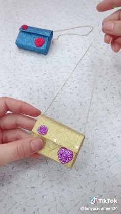 Diy Crafts Hacks, Diy Crafts For Gifts, Diy Home Crafts, Fun Crafts, Doll Crafts, Paper Crafts Origami, Paper Crafts For Kids, Diy For Kids, Paper Bag Crafts