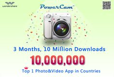 10 million downloads! Thanks all fans for getting us there!