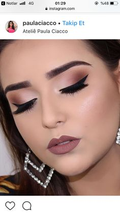 Gorgeous makeup Bride Makeup, Prom Makeup, Wedding Makeup, Hair Makeup, Makeup Trends, Makeup Inspo, Makeup Tips, Beauty Makeup, Bridal Makeup Images