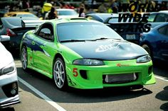 Do you remember this car? Source: https://www.instagram.com/thefastandfuriouseclipse/ #supercars #luxury #lifestyle #photography #awesome #tbt #jdm #tuning #mitsubishi #eclipse