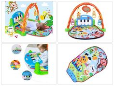 NEW 3 in 1 Rainforest Musical Lullaby Baby Activity Playmat Gym Toy Educational  #Doesnotapply