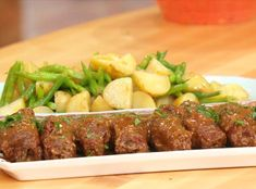 Easy Beef and Bacon Bundles with Worcestershire Gravy.  This was on Rachael Ray today & looked delish!!