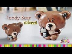 Teddy Bear Polymer Clay tutorial / Osito de arcilla polimérica