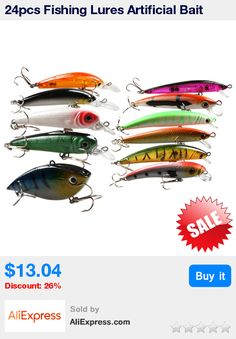 24pcs Fishing Lures Artificial Bait Fishing Lure Kit Isca Artificial Minnow/Popper Spinner Spoon Metal Lure Iscas * Pub Date: 11:36 Sep 11 2017