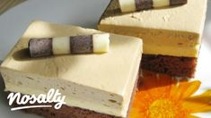 Kávés szelet Almától   Nosalty Nutella, Cheesecake, Dairy, Food And Drink, Cooking Recipes, Sweets, Drinks, Sweet Stuff, Cakes