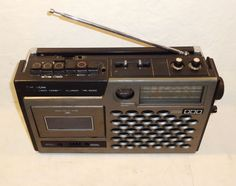 Vintage 1975 Hitachi trk 5030E Radio Cassette Recorder Made in Japan | eBay