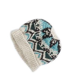 AEO Fair Isle Knit Beanie. AHH...Just Like The Scarf.