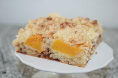 Pfirsich-Marzipan-Streuselkuchen