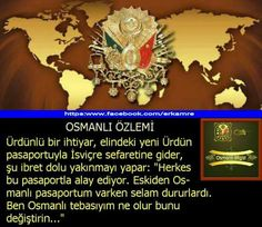 Osmanlı Devleti muazzam bir devletti .. Ottoman Empire, Real Life, How To Apply, Ottomans, History, Education, Quotes, Historia