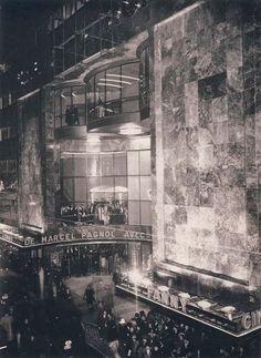 Cinema Metropole, Brussels. Designed by Adrien Blomme in the 1930s.