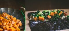 Fall Sweet Potato and Kale Sushi | Food Fitness Fresh Air