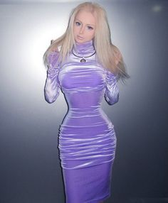 Look At What You've Done To Yourself!: Ukranain Girl Fulfills Dream Of Becoming Real Life Barbie Doll....uhhh
