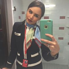 Norwegian Air Stewardess. Re-Posted From @natcarbz #CabinCrew #CrewLife