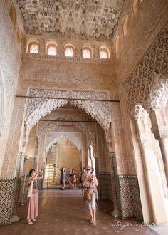 The Nasrid Palaces, Alhabra, Granada, Spain