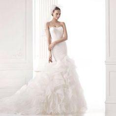 Beautiful Pronovias Gown at Dori Anne Veils Bridal Salon in Castro Valley, CA