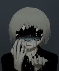 (notitle) – Sad drawings – # Sorry – random pics – art Anime Triste, Art Triste, Dark Art Illustrations, Illustration Art, Aesthetic Art, Aesthetic Anime, Anime Negra, Manga Art, Anime Art