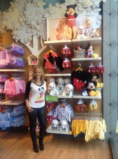 Alison Sweeney Hosts the Disney Baby Store #momstyle what could be better than to have a fit Alison showing this off
