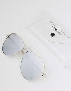 729a83e2a421 Quay Australia X Desi high key sunglasses in silver fade