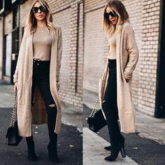 Get this look: http://lb.nu/look/8444227  More looks by Maria De La Cruz: http://lb.nu/user/89853-Maria-D  Items in this look:  Haute & Rebellious  Sock It Booties, H & M  Ribbed Long Sleeve Top, H&M Long Cardigan, Haute & Rebellious Olivia Frame Sunglasses, Haute & Rebellious  Jayka Leather Belt, Chanel   #casual #romantic #street