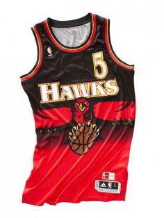 adidas Retro NBA Uniforms Via: Tenisufki.eu