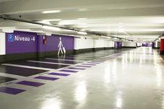 A l'aéroport d'Orly, un système pour retrouver l'emplacement de votre voiture