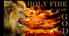 Holy Fire of God Silk Worship Banner