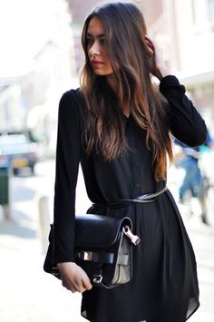 Back † On † Black | #street #style #streetstyle #fashion #ootd #fall #fashion #chic #re #winter #outfit #trend #fallfashion #layers
