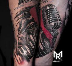 Custom Deftones inspired tattoo.