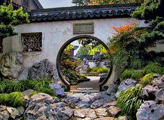 Yu-yuan garden, Shanghai  I was here!! I walked through that arch
