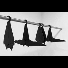 Bat hangers  ▪️⚫️  #bats #hangers #bathangers #gothhome #gothlife #gothgirl #alternative #creepy #creepycool #vampabilly #vamp  #vampire #macabre  #wecreepatnight  #creepygirlsclub #goth #gothic #gothabilly #Psychobilly #punk