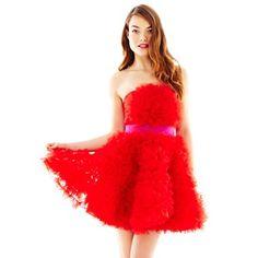 Pearl by Georgina of Marchesa Organza Rosette Dress - jcpenney