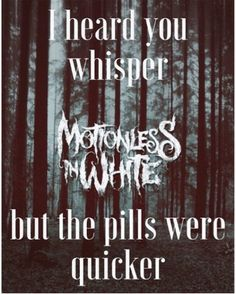 Contemptress- Motionless in White