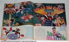 TV SORRISI E CANZONI n.51 del 1978 - ATLAS UFO ROBOT GOLDRAKE GOLDORAK GRENDIZER | AnnunciVintage.com/mercatino