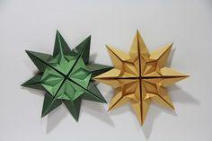 Origami-Time.: Origami Doris star.