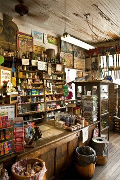 "Country Stores, you hardly see them anymore. For decades, country stores stood as compact yet quaint centers of commerce, ready to dispense most anything, and just as importantly, provide gathering places to socialize. In rural areas, they stood as beacons to anyone who needed a plug of tobacco, mule collar, most anything, especially a chance to talk. A trip to the ""general store"" never disappointed."