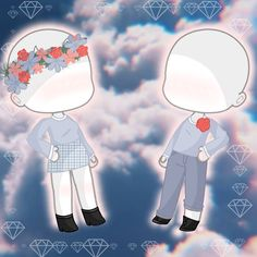 inspired by last slide. Someone sent me this for ideas, and I forgot who. Enjoy this happy couple outfit! Poses, Roblox Pictures, Manga Clothes, Animation Sketches, Clothing Sketches, Anime Scenery, Couple Outfits, Cute Chibi, Anime Outfits