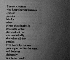 I know a woman... | Bukowski