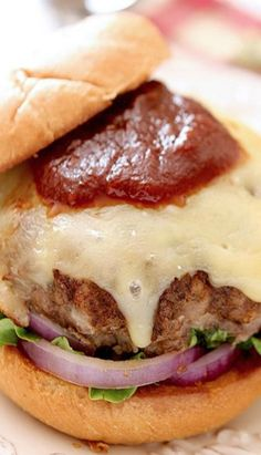 Lamb Burger With Chocolate And Homemade Ketchup Recipe — Dishmaps