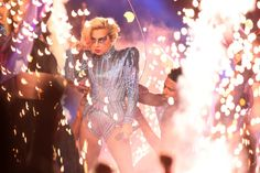 She may have not done it overtly, but Lady Gaga had SOMETHING to say with her Super Bowl performance. | If You Look Closely, Lady Gaga's Halftime Show Seemed Very, Very Political