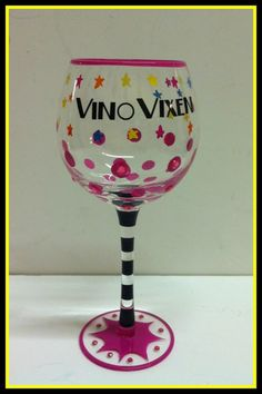 Vino Vixen wine glass $15.62