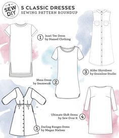 The Quest for Dresses. For more sewing patterns, sewing tips and sewing tutorials visit http://you-made-my-day.com/