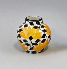 Vase Schramberg handgemaltes Floraldekor 25045275