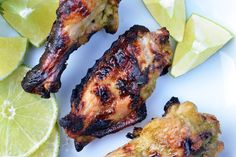 Chile Lime Chicken Wings - These tangy, spicy wings are the perfect accompaniment to next Sunday's festivities