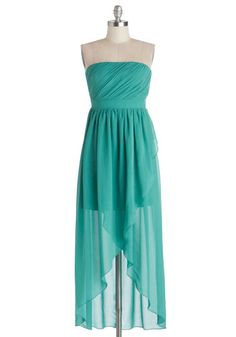 Love this style for attending a beach wedding. Color is pretty too. Island Aperitif Dress, #ModCloth