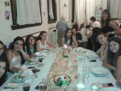 Cena plenaria y festejo de aniversario de los juveniles.