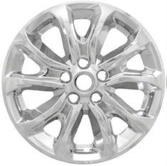 Jeep Wrangler Chrome Wheel Skins / Hubcaps / Wheel Covers