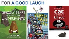 3 Books that Will Make You Laugh #TheOatmeal #PearlsBeforeSwine