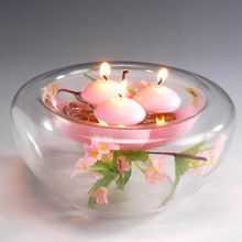 10pcs Small Unscented Floating Candles for Wedding Party Home Decor Candles(China (Mainland))