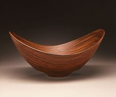 Wooden Decorative Bowls By Robert Lane Clavico  Elm And Purpleheart  Wood  Pinterest